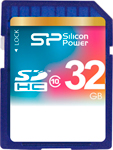 Карта памяти Silicon Power SDHC 32 Gb Class 10 SP 032 GBSDH 010 V 10