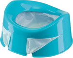 Горшок Happy Baby MINI POTTY 34004 blue