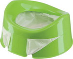 Горшок Happy Baby MINI POTTY 34004 green