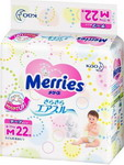 Подгузники Merries Air Through 6-11кг М 22 шт