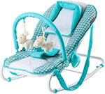 Шезлонг Happy Baby Amalfy НB-8023 Т AQUA