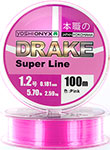 Леска Yoshi Onyx DRAKE SUPERLINE 100 M 0.165 mm Pink 89462