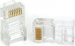 Коннектор  Vention RJ 45 (8p8c), cat. 5, под витую пару (10 шт.)