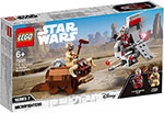 Конструктор Lego Star Wars TM Микрофайтеры: Скайхоппер T-16 против Банты 75265
